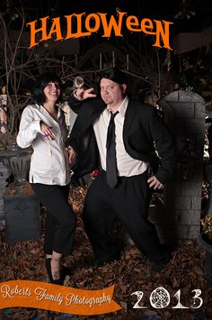 Halloween Portrait Set, Pulp Fiction Costume, Roberts Family Photography, Parkersburg, WV