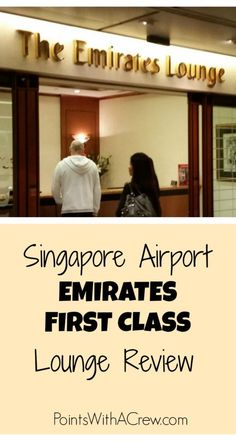 Airport lounges can be a great way to keep your sanity while doing long distance travel. Here's a review of the Emirates lounge in Singapore