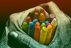 A vida não é colorida, é colorível!