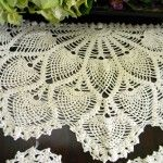 How to Starch & Shape a Doily