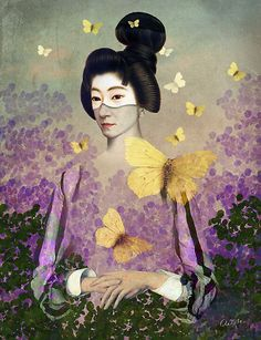 Madame Butterfly ~ by Catrin Welz-Stein