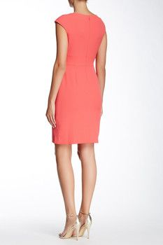 a752edb3be0 Antonio Melani Beryl Sleeveless Ponte Sheath Dress #Dillards ...