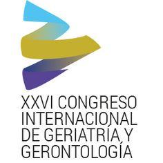 Logotipo del XXVI Congreso Internacional de Geriatría y Gerontología.
