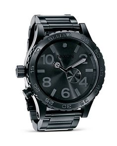 Nixon The 51-30 Chronograph Watch, 51 1/4mm | Bloomingdale's