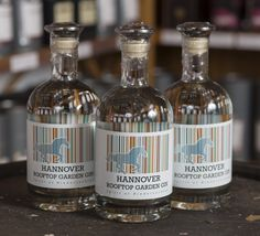 Hannover Rooftop Garden Gin, available at the Hannover-Whisky Store.