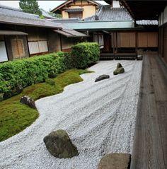 moderne gartengestaltung beispiele japanische inspiration zen garten moos