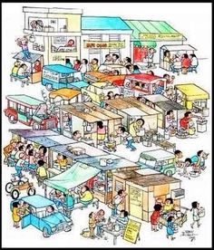 missing the works of Larry Alcala, too! Mario Miranda, Filipiniana, Free Desktop Wallpaper, Oldies But Goodies, Slice Of Life, Cover Pages, Cartoon Styles, Filipino, Line Drawing