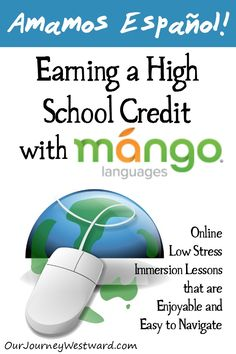 Mango Languages is a great online option for learning just about any foreign language you can imagine! Homeschool Curriculum Reviews, Homeschool High School, Homeschooling, Learning Spanish For Kids, Teaching Spanish, Spanish Activities, Learning English, Study Spanish, Spanish Lessons