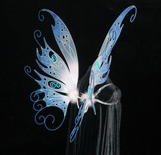 Fairy wings for Bobbie Hinman - side view by On Gossamer Wings, via Flickr