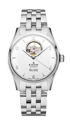 Edox Men's 85016 3 AIN WRC Automatic White Dial Brushed And Polished Stainless Steel Bracelet Watch. Product details http://astore.amazon.com/usxproducts-20/detail/B007ZYUJW8