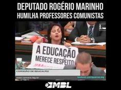 RS Notícias: Deputado Rogério Marinho humilha professores comun...