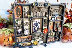 Altered Printers Tray_SteampunkSpells_ArleneCuevas_Graphic45 I want to use Rare Odditties to make something like this