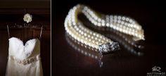 Bride | Wedding Dress | Pearl Necklace | Wedding Day | Bride & Groom | Winter Wedding | Love | Saratoga © Matt Ramos Photography