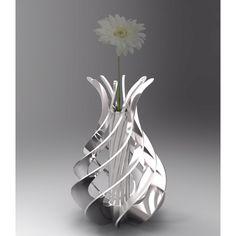 Spiral vase cad image