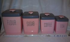 Pink Lustro Ware Set