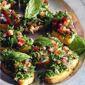 Basil & Kale Bruschetta Recipe - Quick and easy at woolworths.com.au