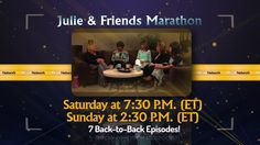 Airing on the TCT Network August 29th & 30th (2015)