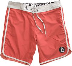 City Limits Scallop Boardshort by Volcom - Rust Color. $50