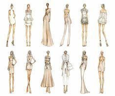Thea Granath is an illustrator and fashion designer based in New York City. Fashion Model Sketch, Fashion Design Sketchbook, Fashion Design Drawings, Fashion Sketches, Drawing Fashion, Illustration Mode, Fashion Illustration Sketches, Fashion Design Illustrations, Look Fashion