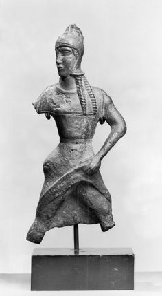 Amazon - 550 bce Most likely an Etruscan Bronze Figure