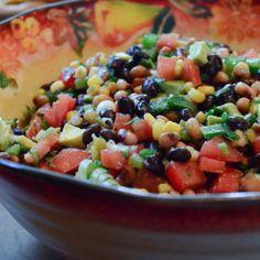 Cowboy Caviar... On sprouted grain tortillas?