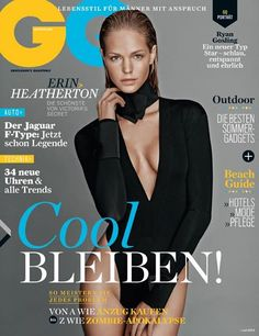 Erin Heatherton for GQ Germany - July 2013