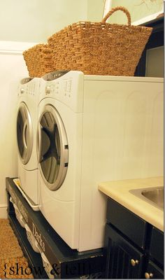 {Laundry Room Updates}–and my most asked questions about the laundry room | Sweet Pickins Furniture