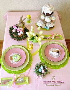 пасхальный стол Easter Crafts, Table Decorations, Spring, Blog, Ideas, Home Decor, Easter, Interior Design, Home Interior Design