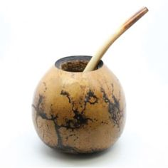 Yerba Mate Gourd & Bombilla Set
