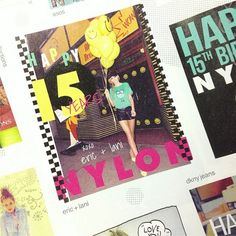 Happy 15th Anniversary to NYLON from all of us at eric+lani xo