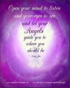 Open your Mind should be Angels Angel Blessings and Poems with Beautiful Images - Mary Jac - Angel Quotes - Page 3 Angel Protector, Angel Guide, Angel Prayers, I Believe In Angels, My Guardian Angel, Angel Cards, Angels In Heaven, Spirit Guides, Mindfulness