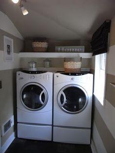 Mãe, esposa, dona de casa, trabalhadora.... por Dri Viaro: Personalizando sua lavanderia