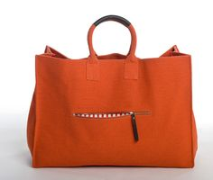 M Sydney Tote Bag Orange