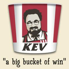 Kevin Smith wants to give you A Big Bucket of Win! Big Bucket, Silent Bob, Kfc, Getting Old, Never Give Up, Nerd, Geek Stuff, Trust, Awesome