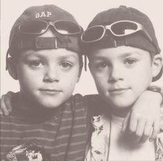 Little Jack and Finn Harries