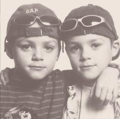 Little Jack and Finn Harries