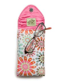 Charmed Double-Sided Eyeglass Case. A must have for summer eye and sun glasses toting in my purse.