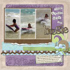 Scrapbooking - Love Purple!