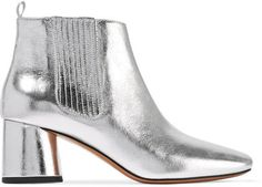 Marc Jacobs - Rocket Metallic Leather Chelsea Boots - Silver