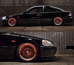 Civic Jdm, 2000 Honda Civic, Honda Civic Coupe, Honda Civic Hatchback, Auto Wheels, Honda Cars, Honda Fit, Japan Cars, Sweet Cars