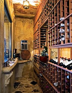 Prasatthong Mansion, Wine Cellar.   All they need is some custom monogrammed barware from Crystal Imagery! http://www.crystalimagery.com