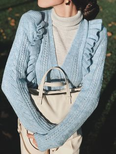 Short Cardigan Outfits - Styling Guide Cardigan Outfits, Styling Tips, Style Guides, Rebecca Minkoff, Fall Outfits, Fashion Tips, Bags, Fashion Hacks, Handbags