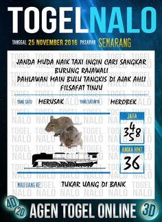 Kode JP 4D Togel Wap Online Live Draw 4D TogelNalo Semarang 25 November 2016