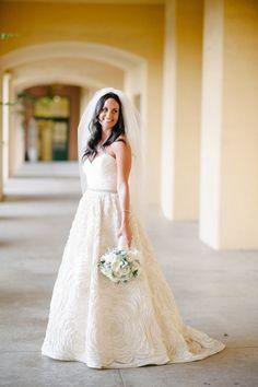 Gorg Amsale (amsale.com) wedding dress | Photography: Acres Of Hope Photography - acresofhopephotography.com  Read More: http://www.stylemepretty.com/california-weddings/2014/05/01/rustic-italian-wedding-in-san-diego/