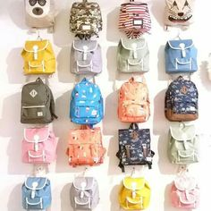 Cute and large variety of choices small backpack