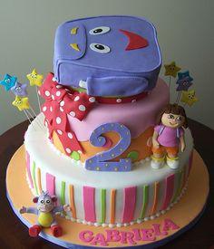 dora+cakes | Dora the Explorer cake | Flickr - Photo Sharing!