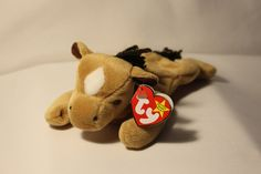 Birthday: September 1995 All the other horses used to tattle Because Derby never wore his saddle He left the stables, and the horses too Just so Derby can be with you Beanie Babies Value, Beanie Baby Bears, Ty Beanie Boos, Ty Babies, September 16, Stables, Derby, Goodies, Gadgets