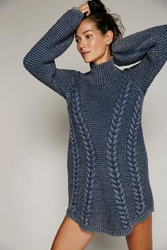 Awesome Sweater Dress from Free People $168.00  Womens BACK TO BACK SWEATER MINIclik on Buy Now -Xwalker.com