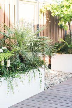 Unique Lawn-Edging Ideas to Totally Transform Your Yard - The Trending House Terrace Roof, Rooftop Garden, Balcony Garden, Garden Planters, Dream Garden, Home And Garden, Lawn Edging, Outside Living, Green Landscape