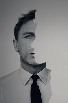creative portrait idea